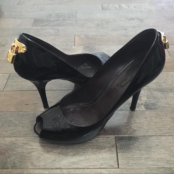 3529325cba130 Louis Vuitton Shoes | Lock Pumps | Poshmark